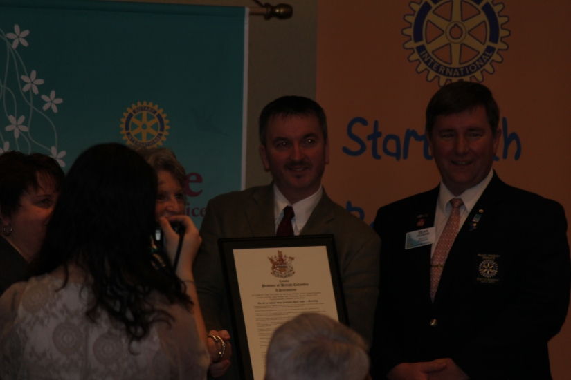The Government of British Columbia proclaims February 23rd Rotary Day in British Columbia