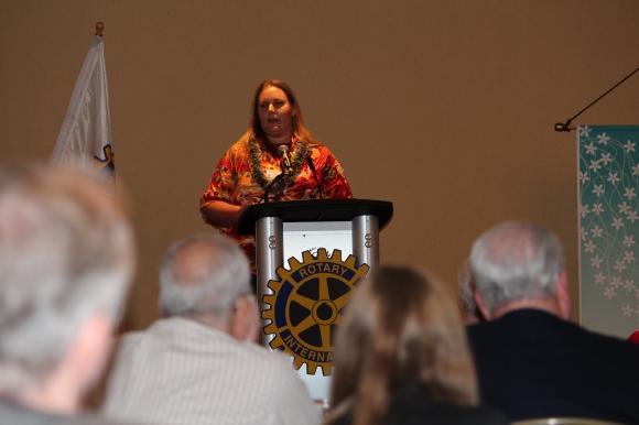 Presentation on Rotary Peace Forum Honolulu